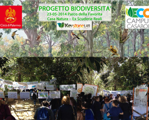 Manifestazione Biodiversità alla favorita di Palermo