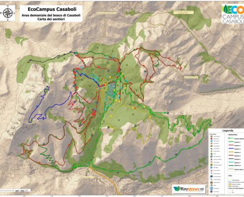Trekking ed Mountain Bike a Casaboli