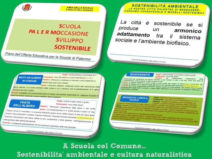 A scuola con il Comune di Palermo