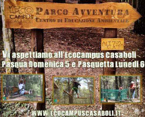 Pasqua e Pasquetta  all'EcoCampus